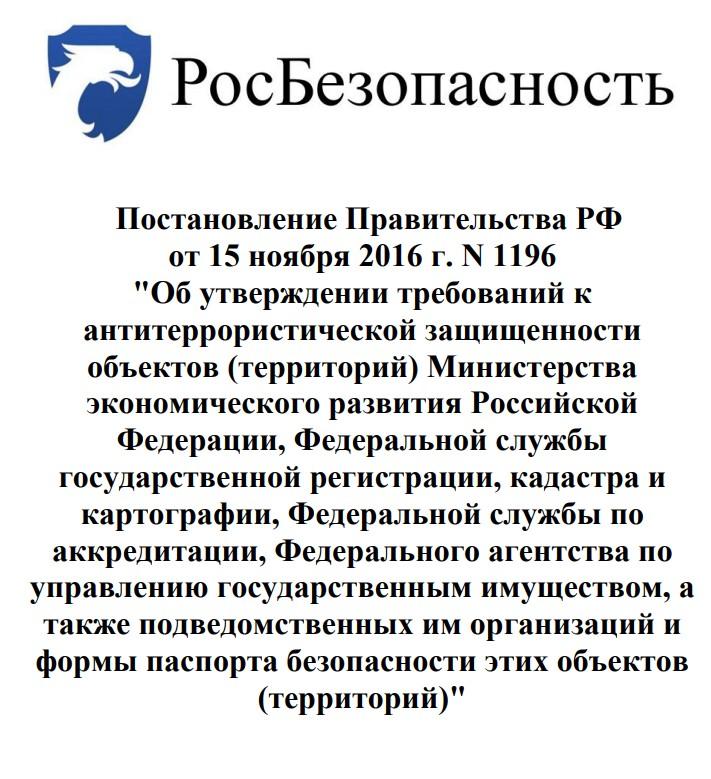 Постановление Правительства РФ от 15 ноября 2016