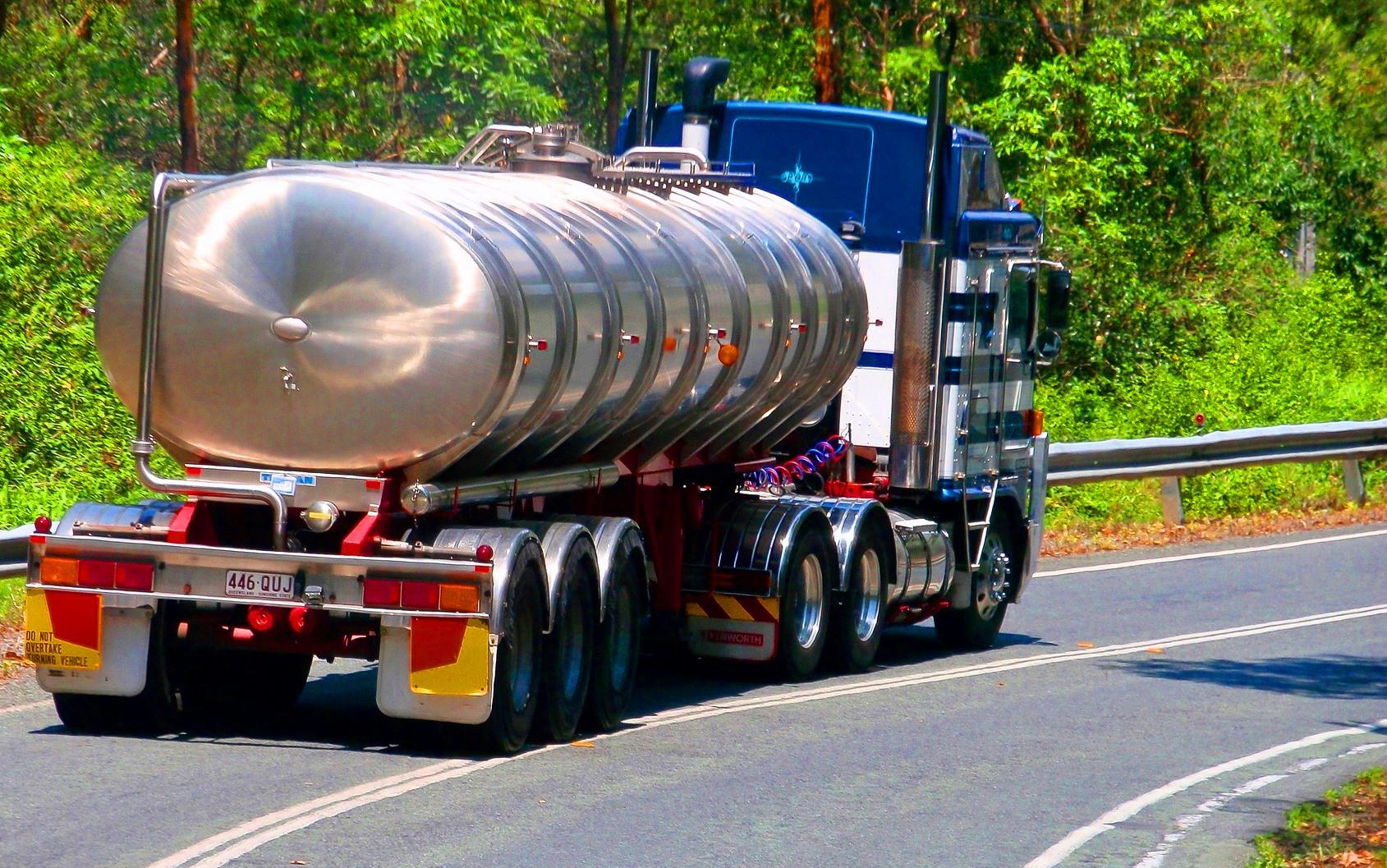 Паспорт обеспечения транспортной безопасности транспортного средства Росавтодора, полуприцеп для опасных грузов
